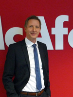 Sascha Plathen, Director Channel Sales bei Intel Security