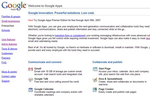 Google will Business-Anwendungen online vermarkten