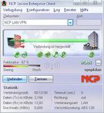 NCP mit VPN-Clients für Windows Vista 64