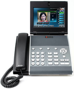 Polycoms »VVX1500«-Telefon kombiniert Voice over IP mit Video-Conferencing
