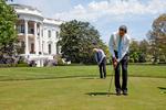 US-Präsident Barack Obama »flickrt«
