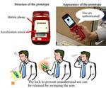 Schüttelhandy: Mobiltelefon erkennt Benutzer an Handbewegung