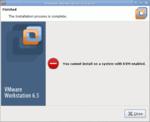 Lablog: Vmware-Workstation mag nicht mit Kernel-based Virtual Machine zusammenarbeiten