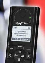 Dect-Telefon von AVM: Aktualisierung per Knopfdruck