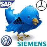 Dax-Unternehmen entdecken Twitter