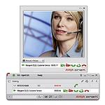 Servicecenter mit integrierten Video- und Desktop-Funktionen