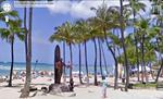 Google Street View sagt »Aloha«