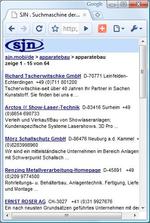 Erste deutsche Techniksuchmaschine fürs Smartphone