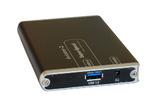 Mobile SSD-Festplatte mit USB-3.0-Anschluss von Active Media