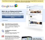 Google wildert mit »Buzz« in den Gefilden von Twitter und Facebook