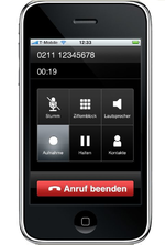 VoIP über UMTS mit dem iPhone bei Sipgate nutzen