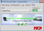 NCP liefert maßgeschneiderten VPN-Client für Juniper Networks
