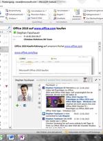 Outlook-Social-Connector für Facebook und Windows Live