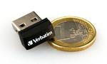 Mini-USB-Stick mit bis zu 32 GB