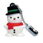Geht auch ohne Schnee: Der USB-Schneemann