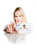 Kreditkarte zum Aufladen