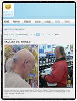 Supermarkt-Paparazzi machen Amerika unsicher