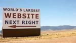 Weltgrößte Webseite als Touristen-Attraktion