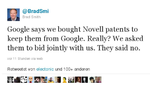 Microsoft lässt Googles Verschwörungstheorie abblitzen