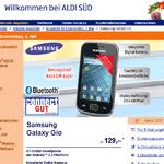 Samsung Galaxy Gio für 129 Euro bei Aldi