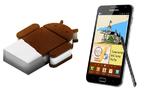 Upgrade auf Android 4.0 ist da