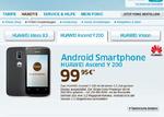 Huawei Ascend Y200 für unter 100 Euro