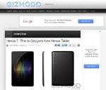 Nexus 7: Googles erstes Tablet