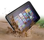 Robustes Tablet für Handwerk und Bau