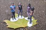 Supermarktbesucher lassen sich in 3D anfertigen