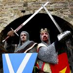 Mittelalterflair auf dem Edinburgh Castle