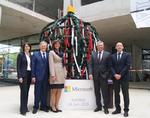 Erster Blick in die neuen Microsoft-Büros in Schwabing