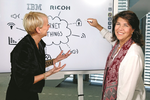 Interaktives Whiteboard mit Watson-Technologie
