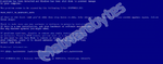 Hackerangriff tarnt sich als Bluescreen