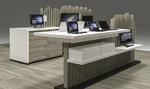 Michael Telecom: Möbelkonzept für Ladengeschäfte