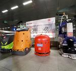 Smarte Schrubber-Challenge im Berliner Hauptbahnhof