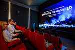 Erstes Kino mit Samsungs »3D Cinema LED Screen«
