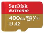 Sandisk bringt pfeilschnelle MicroSD-Karte mit 400 GByte