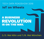 »IoT on Wheels«-Roadshow 2018 von Tech Data