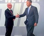 US-Präsident Obama zum Anfassen