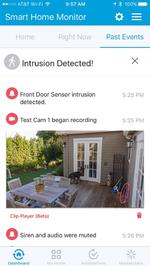 Smarte Hausüberwachung