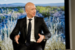 Amazon-Chef Jeff Bezos in Berlin