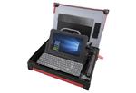 Technikerkoffer mit Notebook und Drucker von Dell