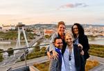 Über den Dächern von Bratislava