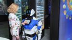 Roboter auf der CES von Tesla umgemäht