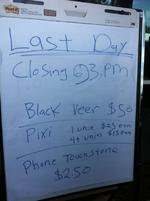 HP schließt Palm-Stores