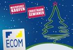 Ecom verschickt Weihnachtsbäume