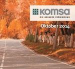 Komsa startet »KOM.DAY Herbstroadshow 2014«