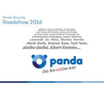 Panda auf Security Roadshow