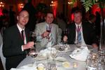 Manfred Grandis von BHS Binkert, Thomas Kade von Toms Computersysteme und Christoph Grüten von Silex
