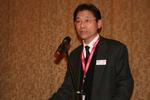 PFU-Chef Sho. I. Yoshioka begrüßte die Partner zur dritten Channel Koferenz des Scanner-Spezialisten